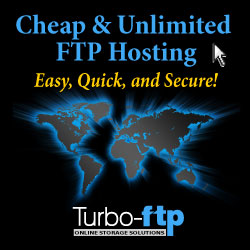 Signup for unlimited FTP hosting